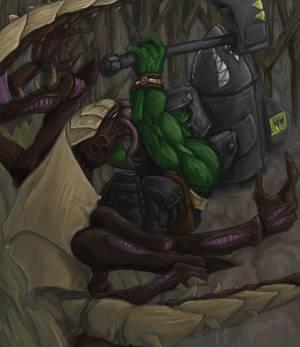 Ork vs Tyranid