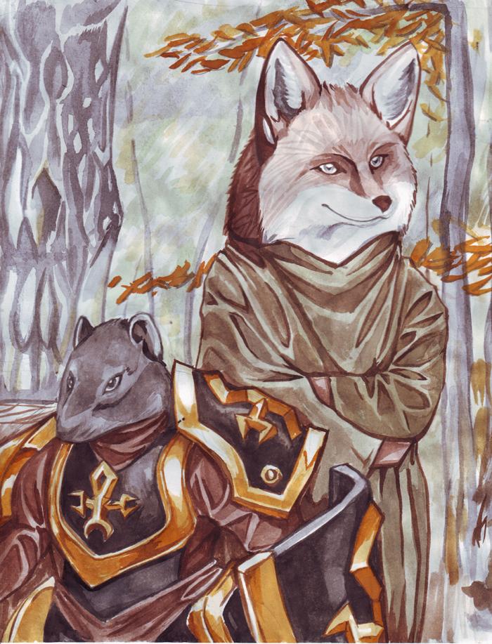 Marlfox by kitfox-crimson