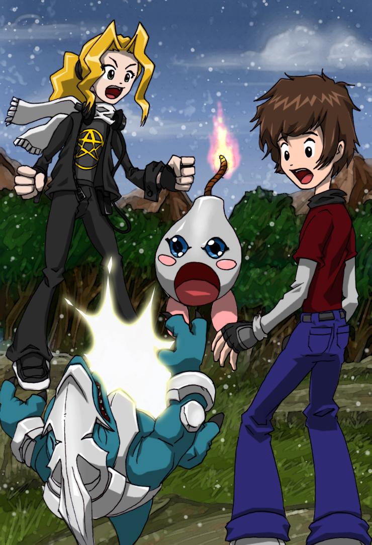 Digimon by kitfox-crimson