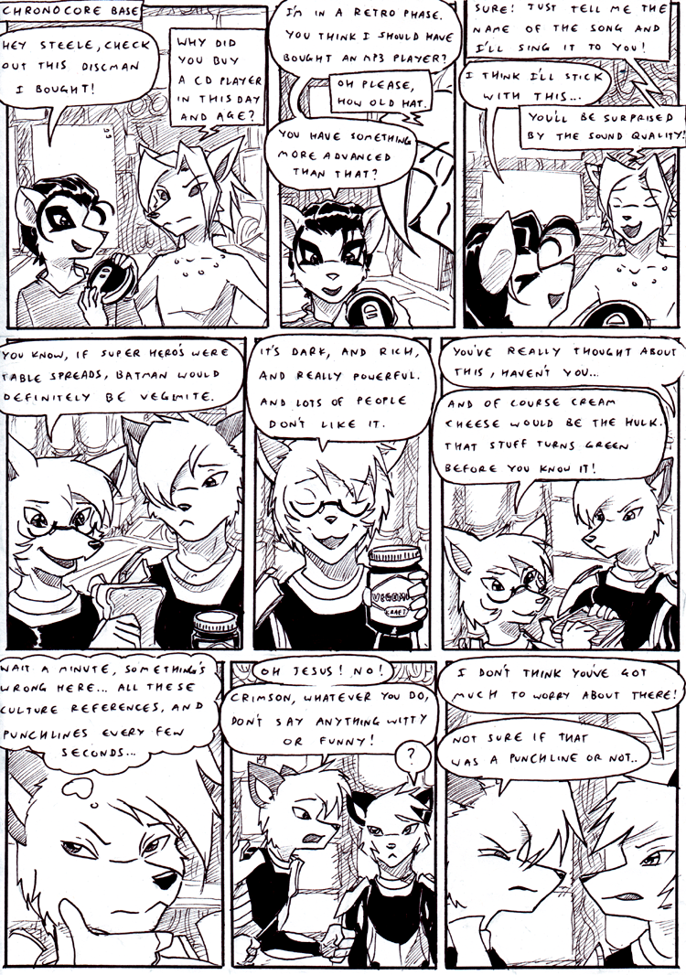 Crossovers 16 page 1