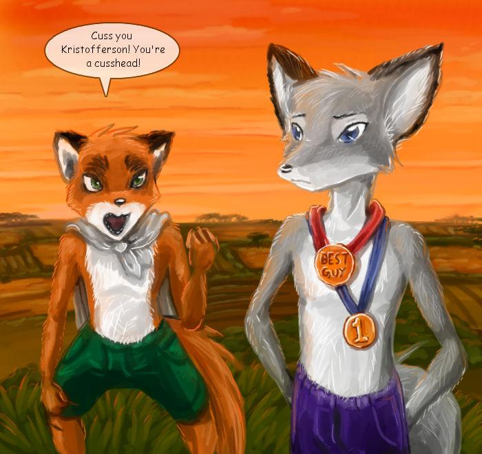 Fantastic Mr Fox Ish By Kitfox Crimson On Deviantart
