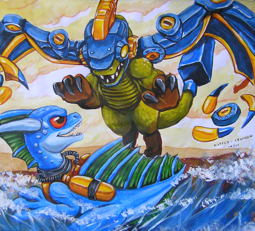 Skylanders by kitfox-crimson