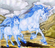 Unicorns? what thuh??? by kitfox-crimson