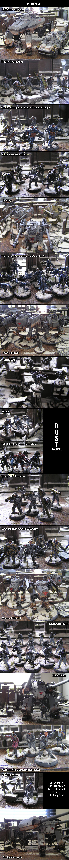 My Dust Warfare Axis Army by kitfox-crimson