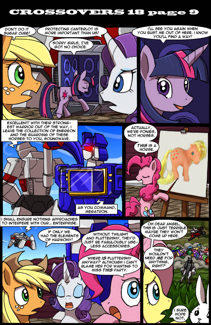 Transformers vs My Little Pony page 9 by kitfox-crimson on