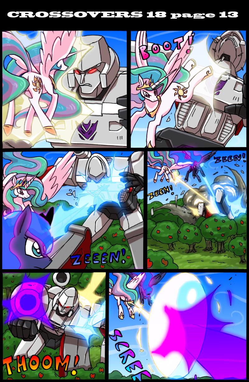 Transformers vs My Little Pony page 13 by kitfox-crimson