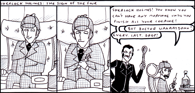 Sherlock Holmes 1 by kitfox-crimson