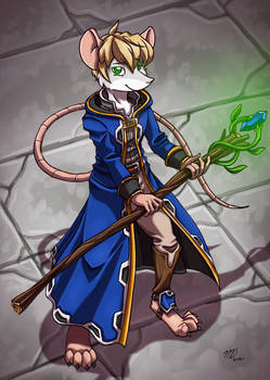 Rye the mouse cleric