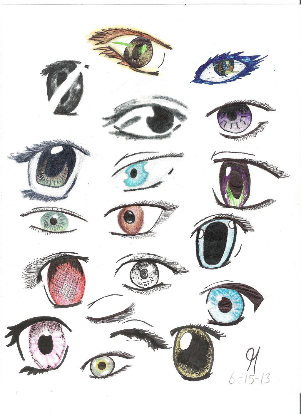 Manga Eyes By Ballsnacther