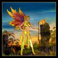Sulphur Angel by cymbidium56