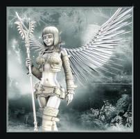 Silver Angel...for my friends by cymbidium56