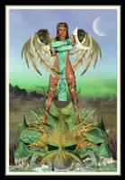 Vengeful Angel by cymbidium56