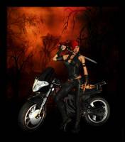Evangeline, Vampire Hunter... by cymbidium56