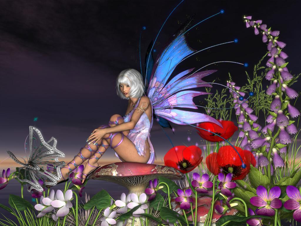 Flower Fairy by cymbidium56