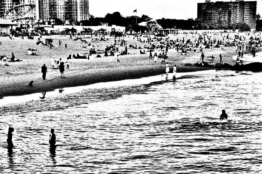 Coney Island Beach by lesley-oldaker
