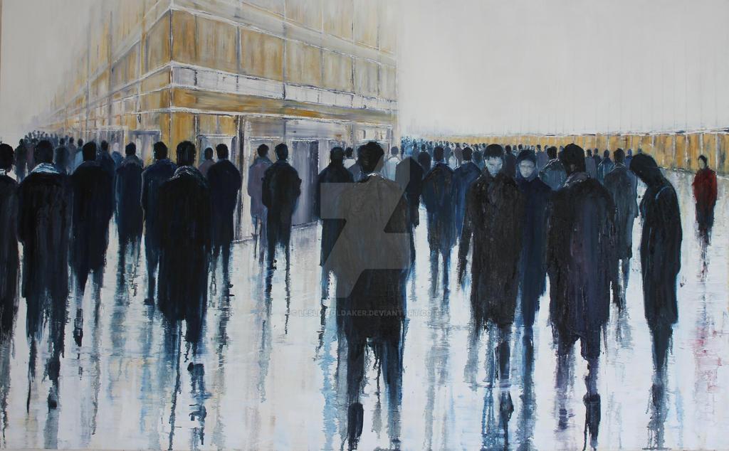 Outsider by lesley-oldaker