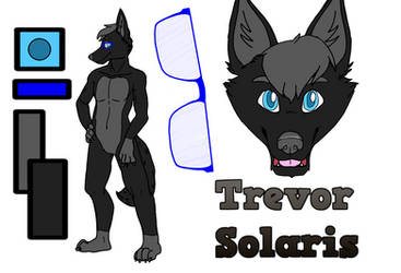 Trevor Solaris Ref Sheet by C4theSlime