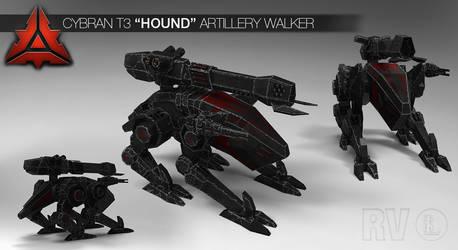 Cybran T3 'Hound' Artillery Walker