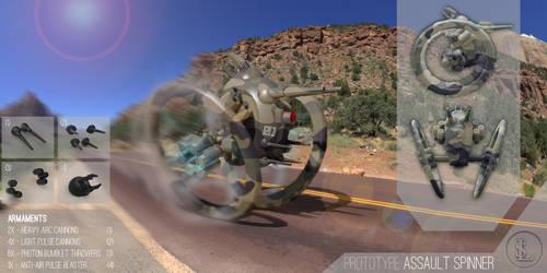 Prototype Assault Spinner