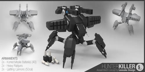 Behemoth Hunter-Killer Mech
