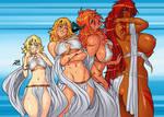 Naomi to Hotgirl Costume Heat - Darkereve by Sephzero
