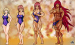 Naomi to Hotgirl Swimsuit Change - Silent-x-voice by Sephzero