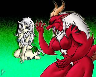 Profile - Lily X Demonic Chimera by Sephzero