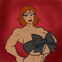Yolina Black Ribbon Bust - Jonfreeman