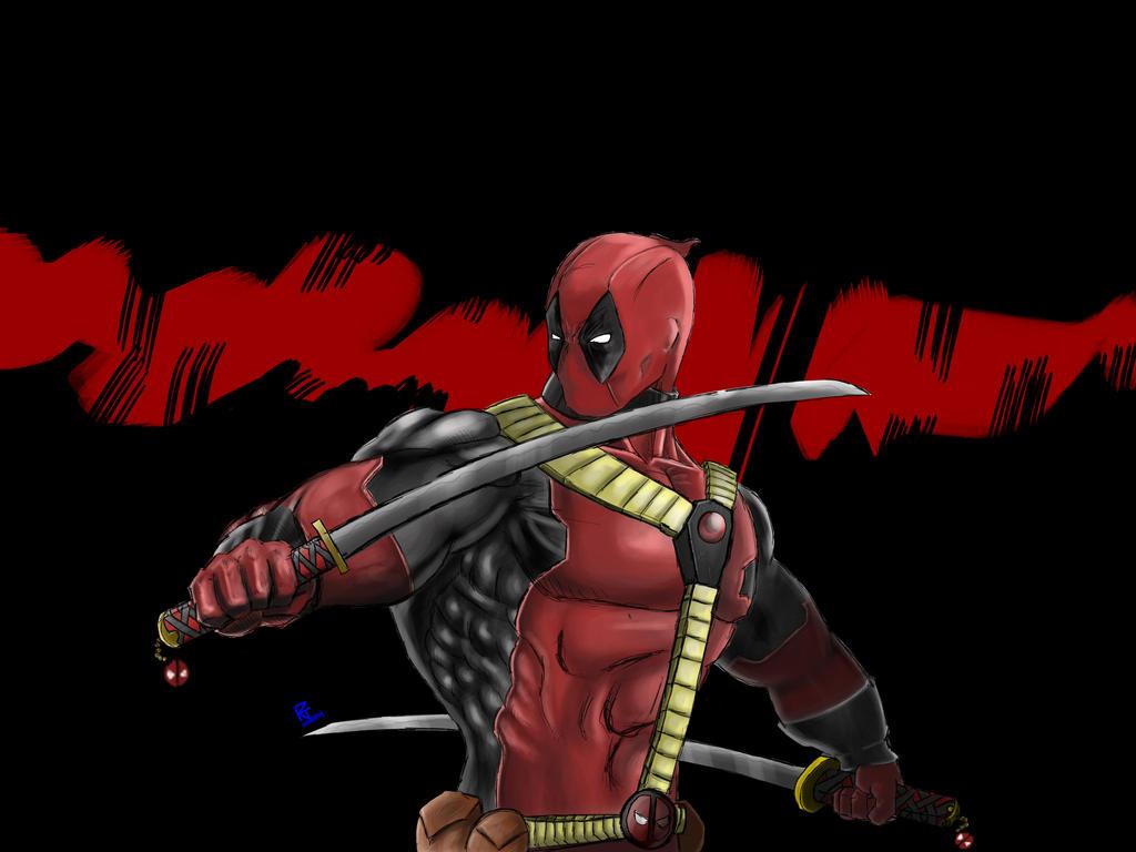 Deadpool Swordplay by Arddy24