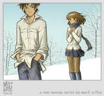 Miki and Hiro in the Snow