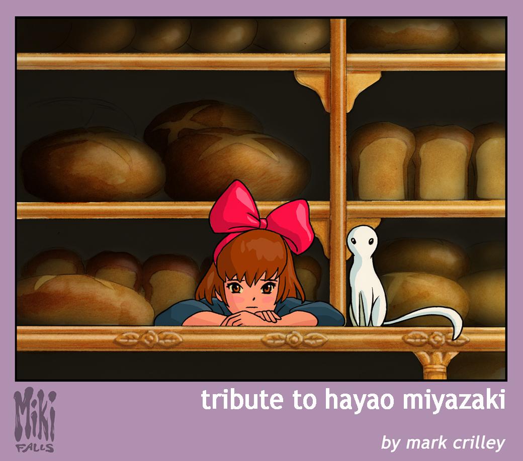 Tribute to Hayao Miyazaki by markcrilley