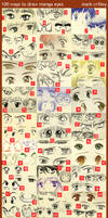 Manga Eyes, 100 Ways