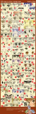 Manga Eyes, 100 Ways