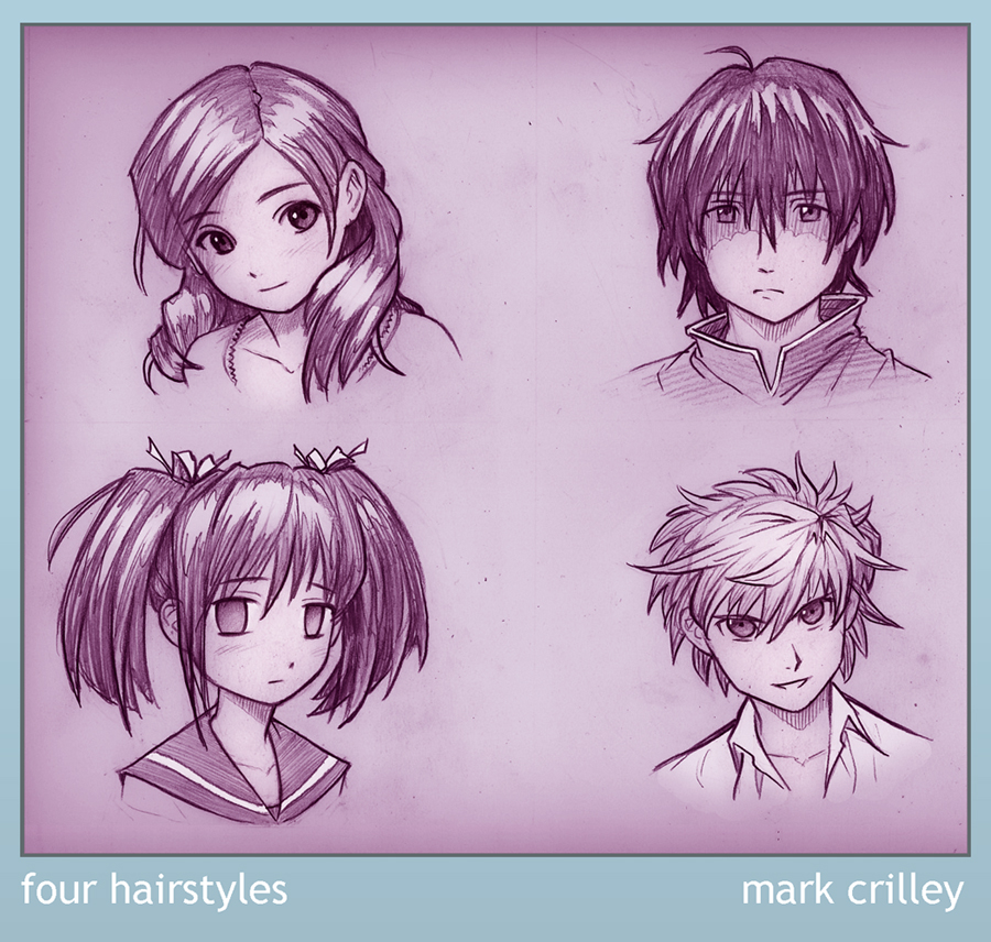 anime hairstyles for guys. anime hairstyles for guys
