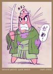 Samurai Patrick Quick Sketch