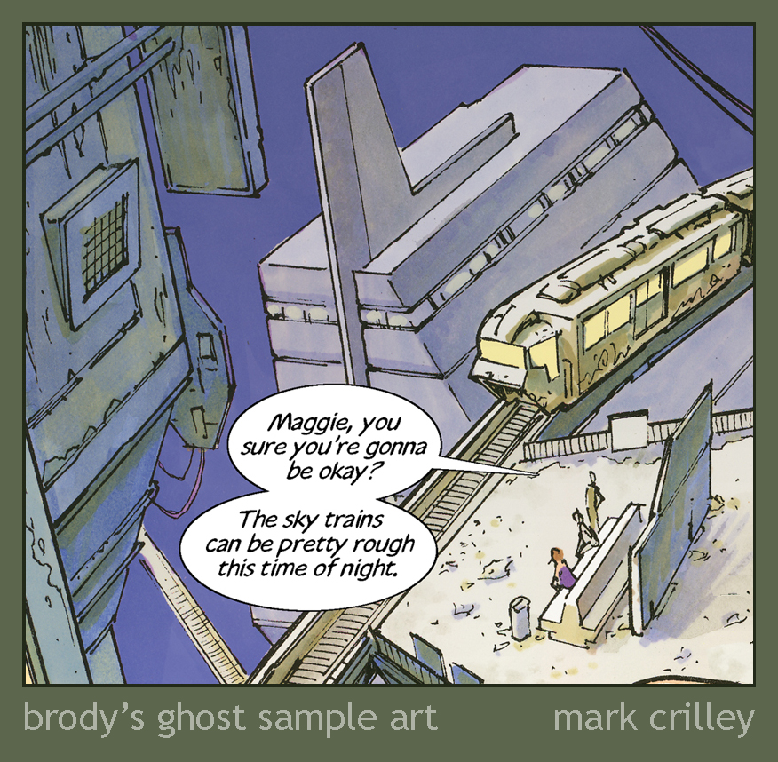 Brody's Ghost Sample Art by markcrilley