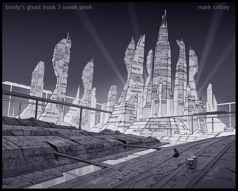 Brody's Ghost 3 Sneak Peek by markcrilley