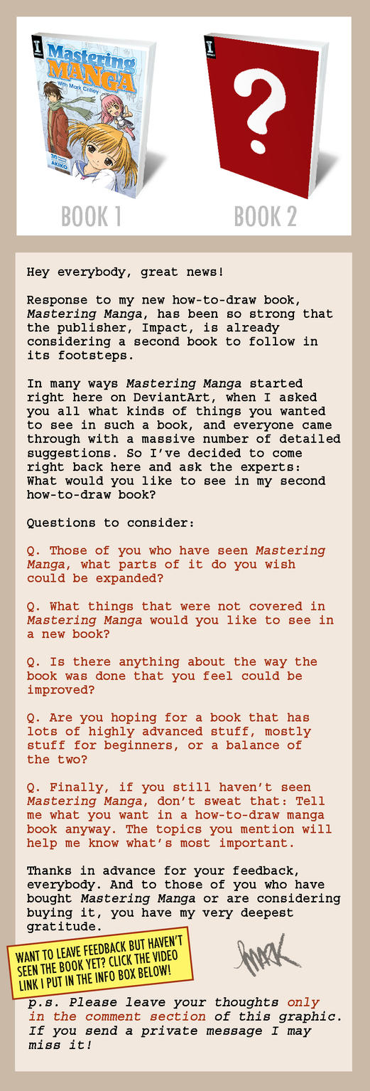 What to Put in a How-To-Draw-Manga Book? by markcrilley