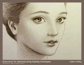 Pencil Shading Demonstration by markcrilley