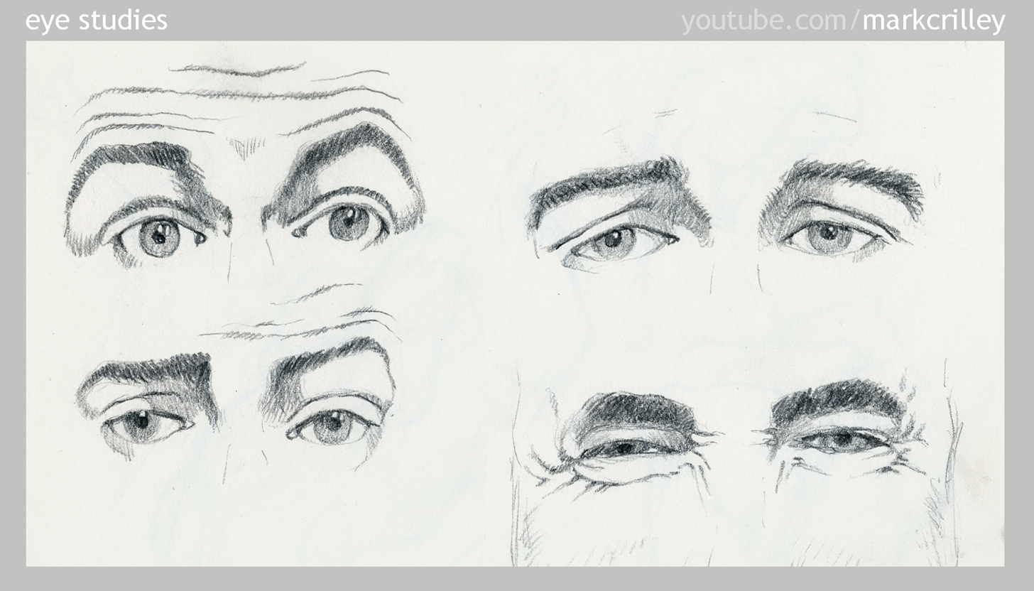 Eye Studies by markcrilley