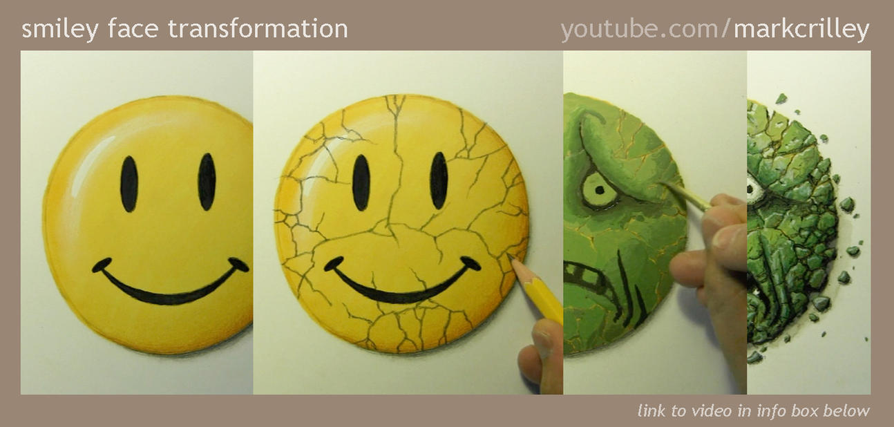 Smiley Face Transformation by markcrilley