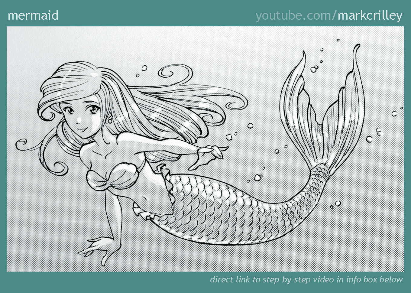 Mermaid by markcrilley