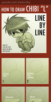 How to Draw Chibi L from Death Note