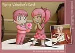 Pop Up Valentine's Card
