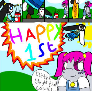 Bub-Chi 1st Anniversary Comic