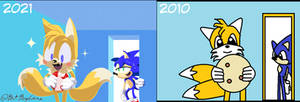 Tails and Sonic Redrawn