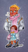KLK: Baby its cold outside...