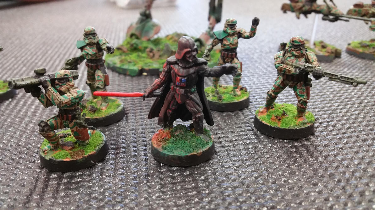 Vader and 35-B Recon Infantry