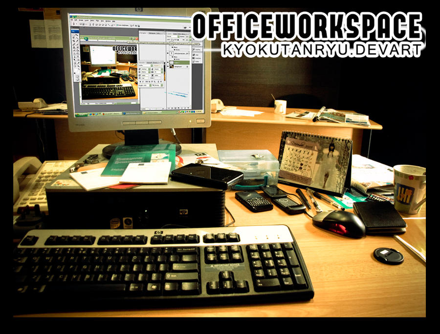My Office Work Space SSC by kyokutanryu