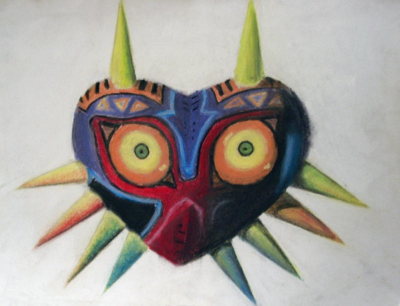Majora's Mask by Imagayrobot